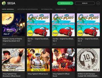 Sega regala la música de su vida a los usuarios de Spotify