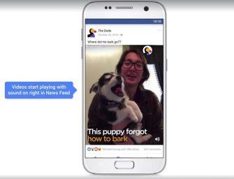 Facebook se actualiza para ofrecer nuevas formas de ver los vídeos