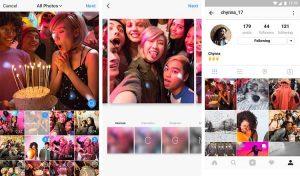 Ya está disponible la función de fotos estilo carrusel de Instagram