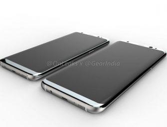 Aparecen nuevos renders que muestran al completo el Samsung Galaxy S8