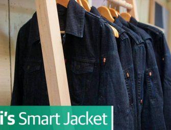 En unos meses saldrá a la venta la chaqueta inteligente de Google y Levi's