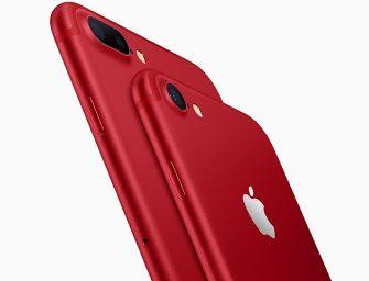 Ahora los iPhone 7 también serán rojos