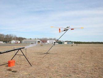 Verizon prepara drones para restablecer la comunicación después de un desastre