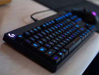 Logitech presenta su teclado G Pro, diseñado para eSports