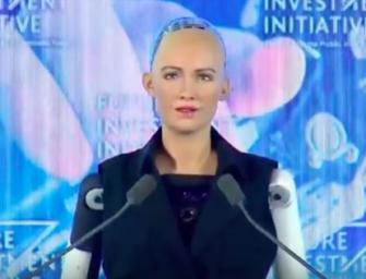 Arabia Saudita se convierte en el primer país en otorgar la ciudadanía a un robot