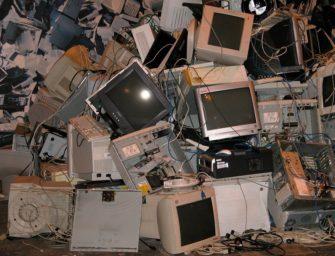 España genera un millón de chatarra electrónica al año