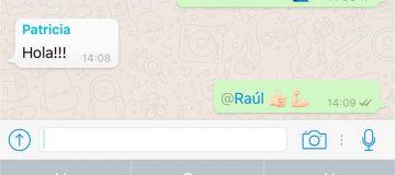 Llegan las menciones a los grupos de WhatsApp