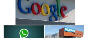 Google, WhatsApp y Decathlon son las marcas preferidas por los españoles