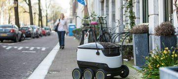 Las pizzas de Domino´s llegarán a domicilio a través de robots