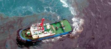 Drones y satélites para la detección de vertidos al mar