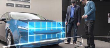 Ford utiliza la realidad mixta para el diseños de sus coches